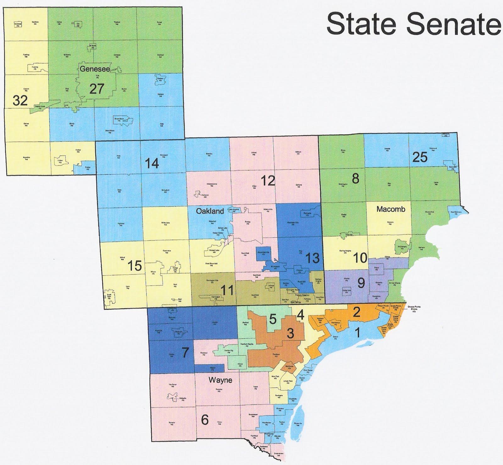 RightMichigan  2014 Michigan State Senate Elections