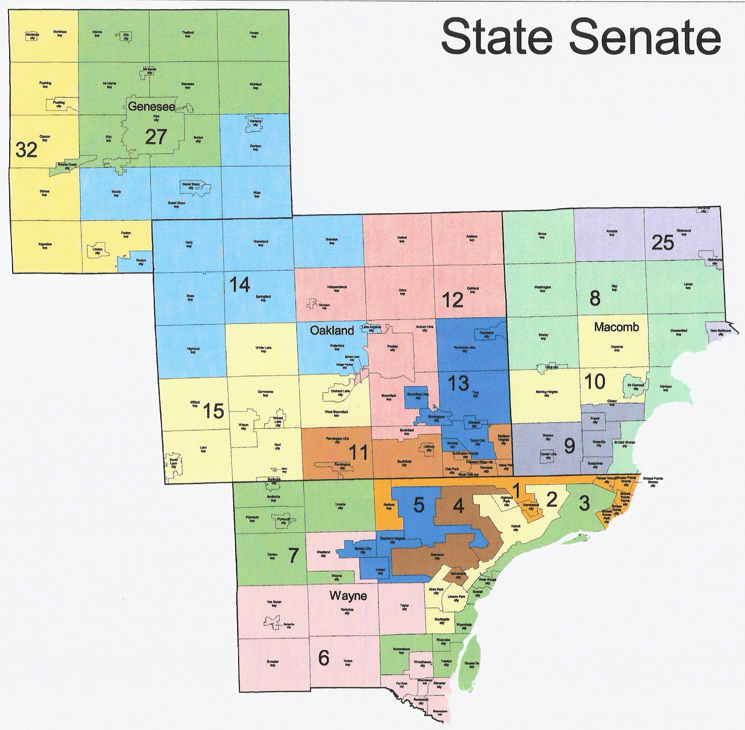 Michigan Redistricting: Official