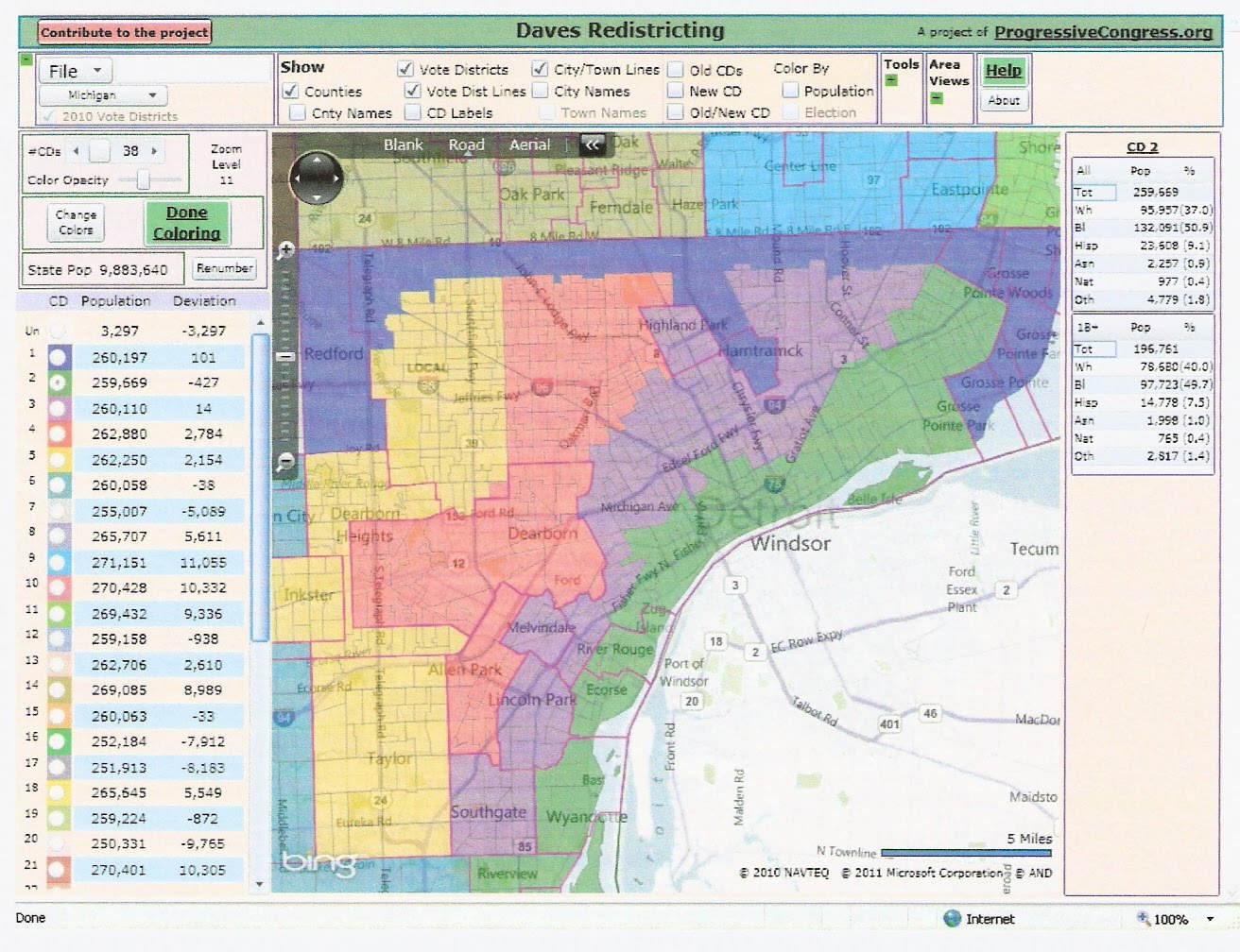 Rightmichigan Com Michigan Redistricting Two Possible State