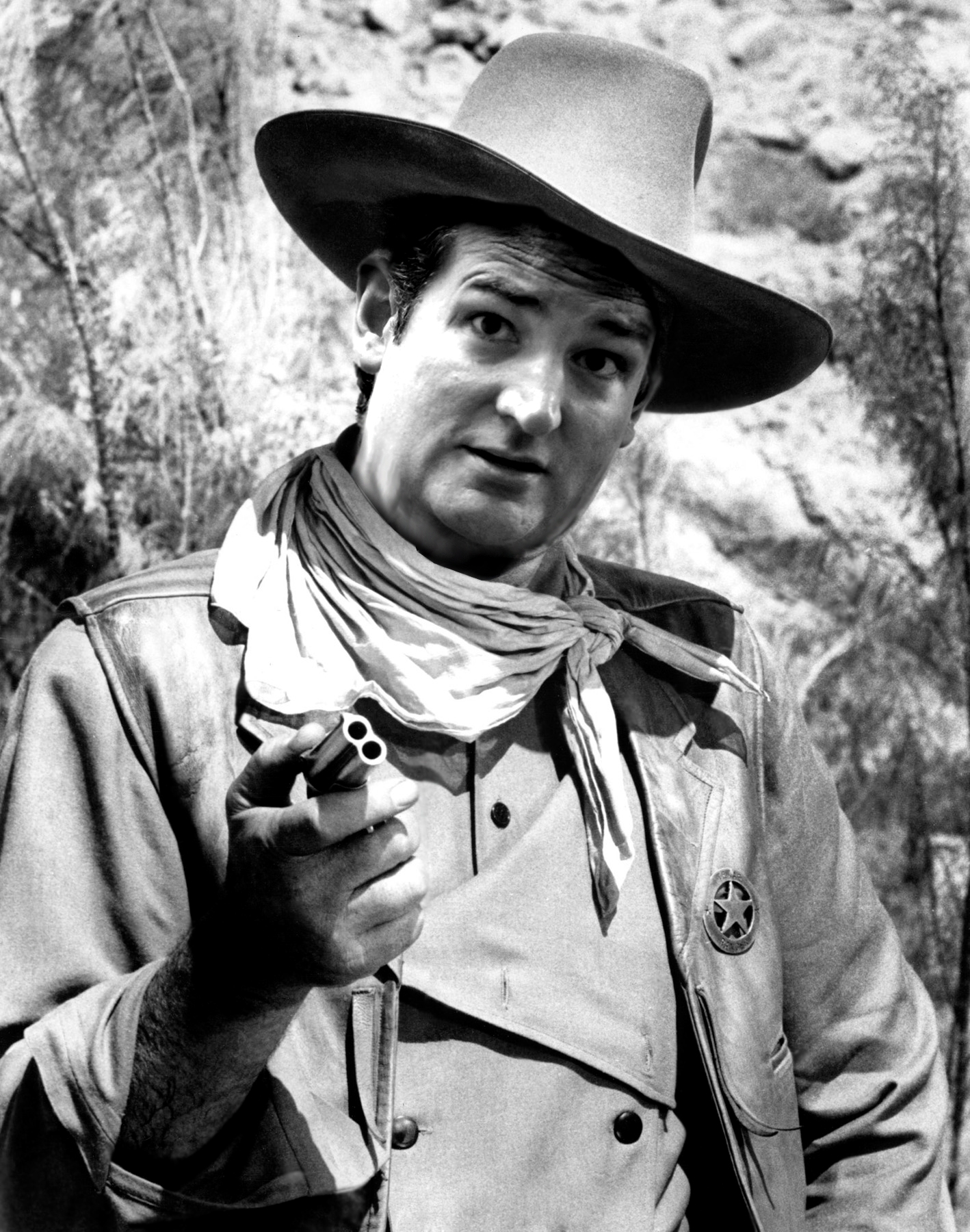 Cruz as the Duke